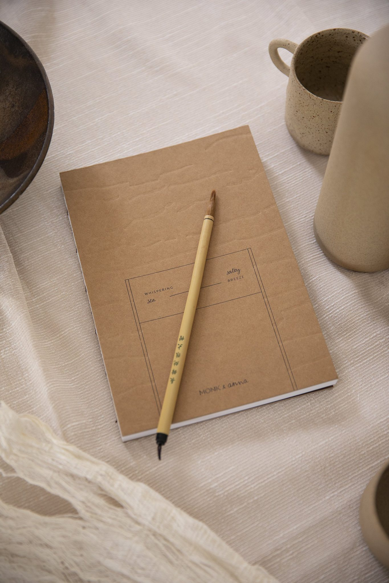 »Notizbuch Kraftpapier« — MONK&ANNA