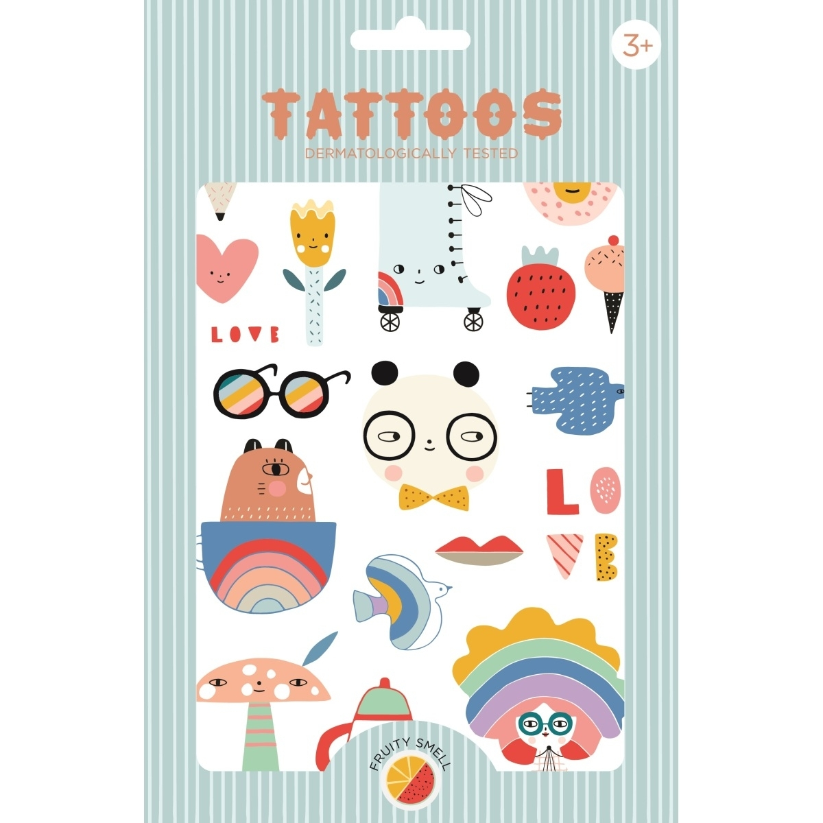 »TATTOOS PANDA« — PETITE MONKEYS