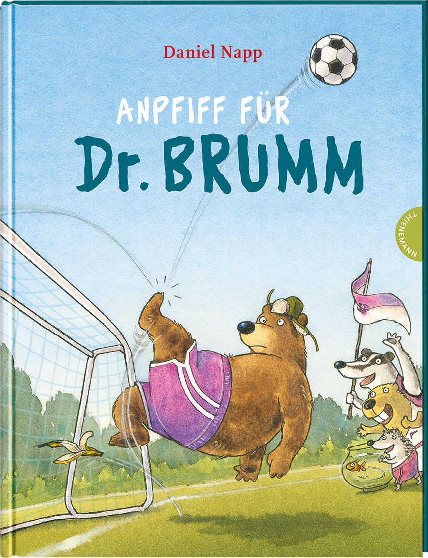 »DR. BRUMM: ANPFIFF FÜR DR. BRUMM« — THIENEMANN