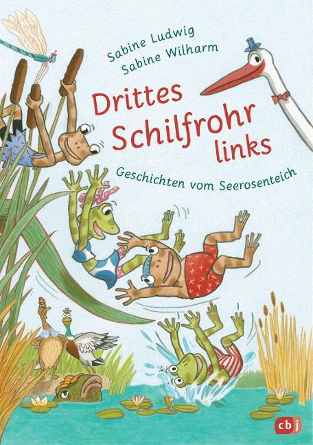 »Drittes Schilfrohr links - Geschichten vom Seerosenteich« — CBJ