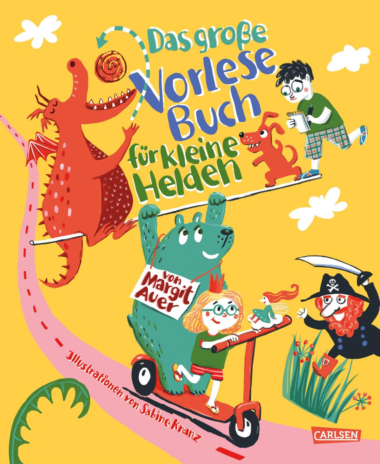 »Das große Vorlesebuch für kleine Helden von Margit Auer« - Carlsen