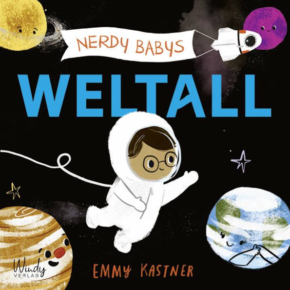 »NERDY BABYS – WELTALL«  — WINDY
