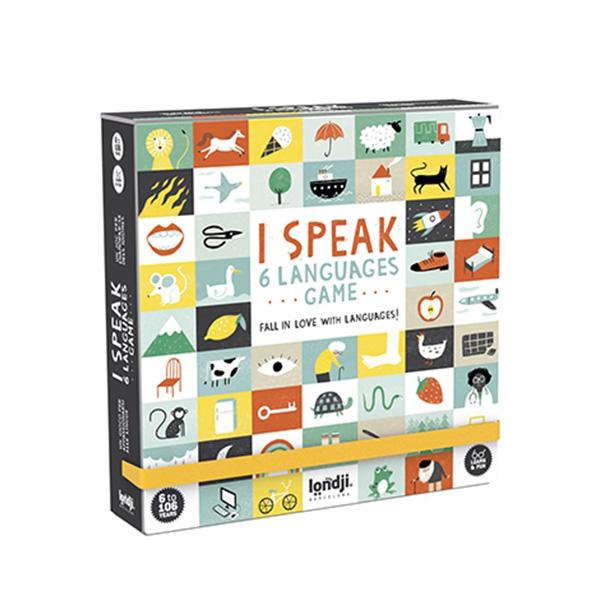 »I SPEAK 6 LANGUAGES«  — LONDJI
