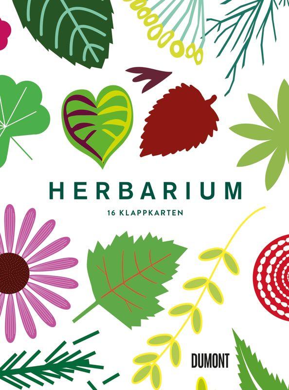 »HERBARIUM - 16 KLAPPKARTEN« - DUMONT
