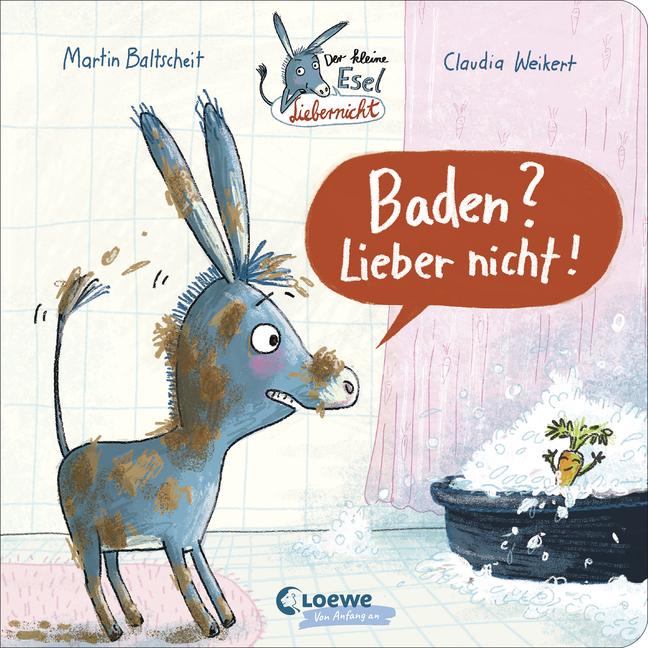 »Der kleine Esel Liebernicht - Baden? Lieber nicht!«  — LOEWE