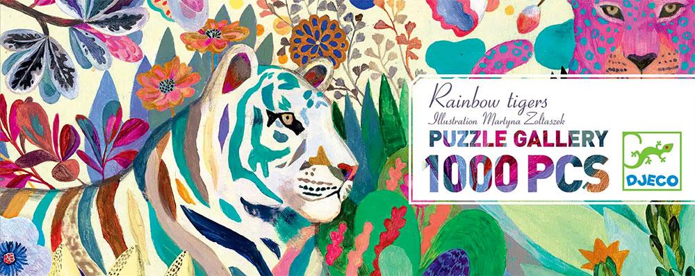 »RAINBOW TIGERS PUZZLE« — DJECO