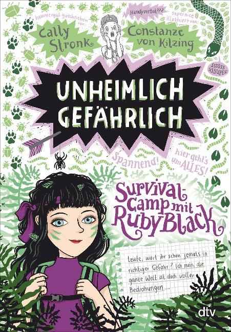 »Unheimlich gefährlich - Survivalcamp mit Ruby Black« — DTV