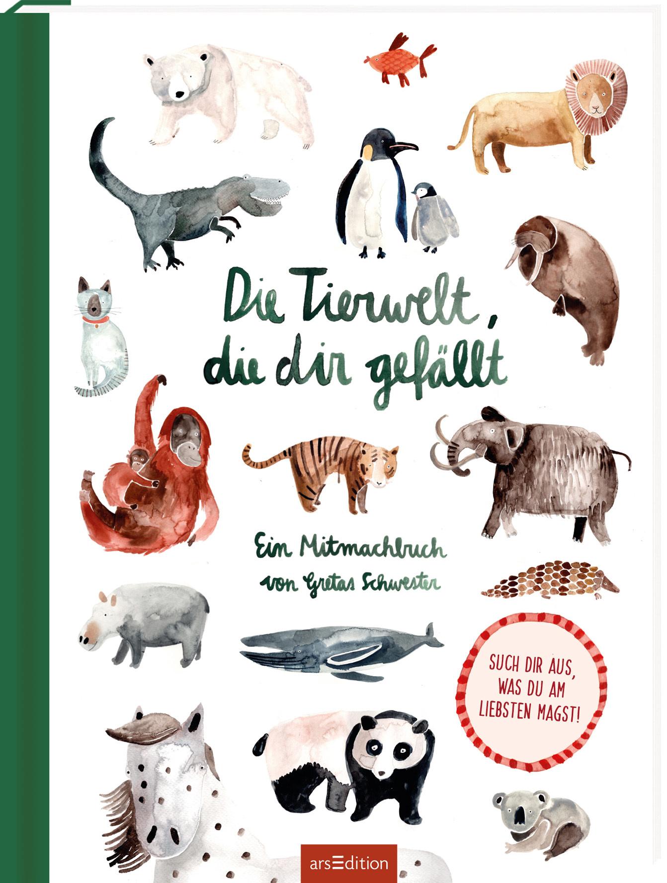 »Die Tierwelt, die dir gefällt!« — Ars Edition