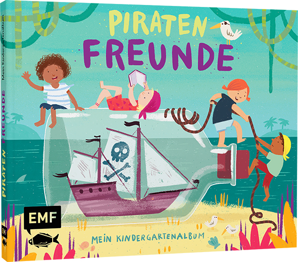 »PIRATENFREUNDE - MEIN KINDERGARTENALBUM« — EDITION MICHAEL FISCHER