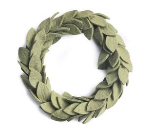 »Grüner Blätterkranz«  — Gamcha