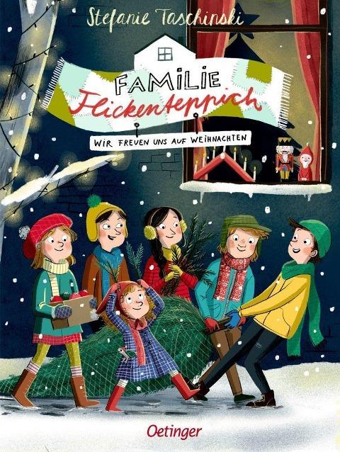 »Familie Flickenteppich. Wir freuen uns auf Weihnachten (Band 4)« — OETINGER