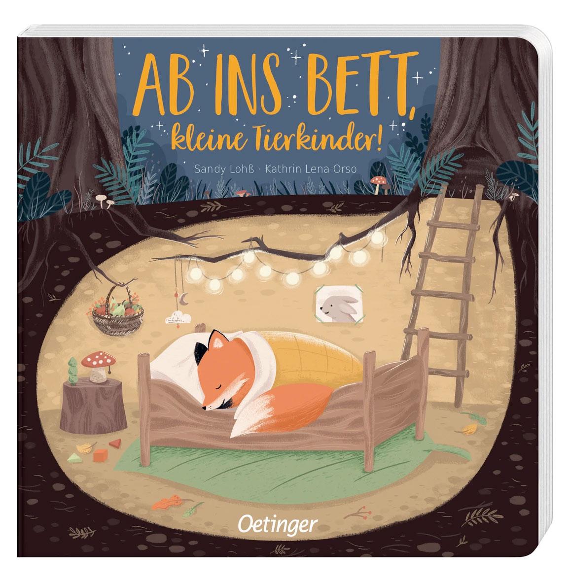 »AB INS BETT, KLEINE TIERKINDER« — OETINGER