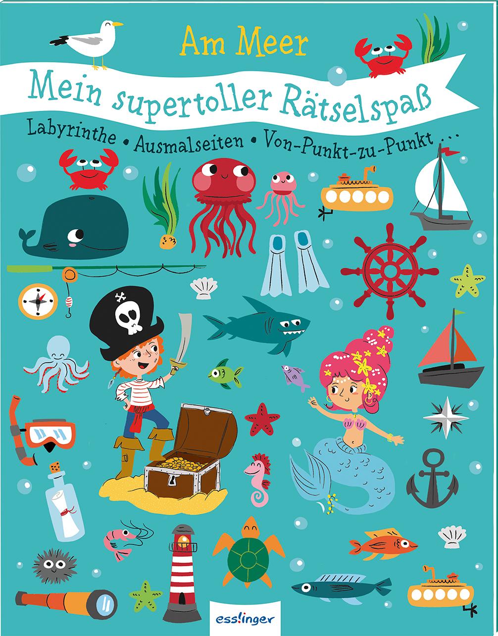 »Mein supertoller Rätselspaß: Am Meer« — Esslinger
