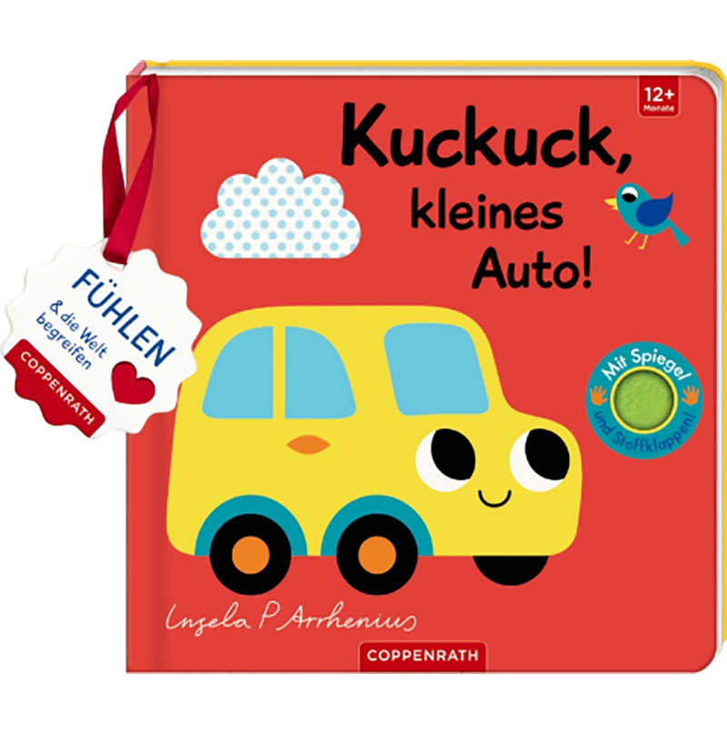 »MEIN FILZ-FÜHLBUCH: KUCKUCK, KLEINES AUTO!« - COPPENRATH