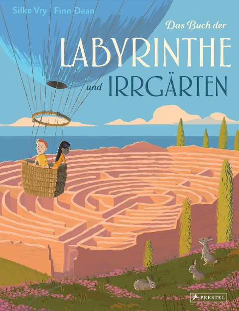 »Das Buch der Labyrinthe und Irrgärten« — PRESTEL