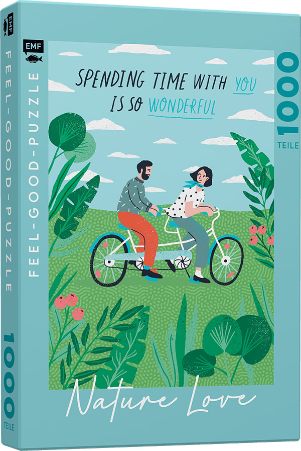 »FEEL-GOOD-PUZZLE 1000 TEILE - NATURE LOVE: SPENDING TIME WITH YOU IS SO WONDERFUL« — EMF