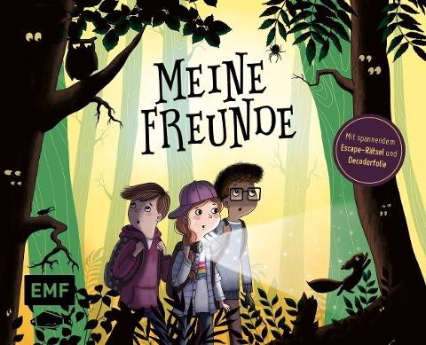 »Meine Freunde - Das Freundebuch mit schaurig-spannendem Escape-Rätsel« — EMF