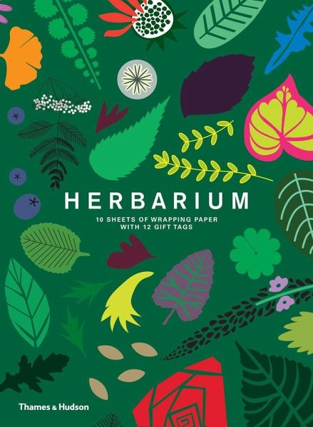 »HERBARIUM - GIFT WRAPPING PAPER BOOK« - THAMES & HUDSON