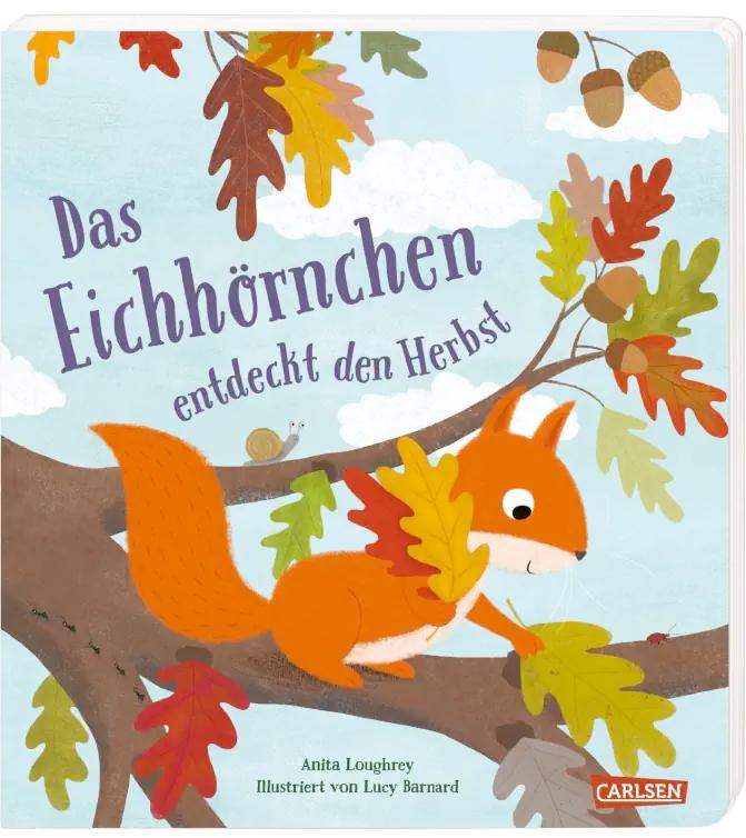 »Das Eichhörnchen entdeckt den Herbst« — CARLSEN