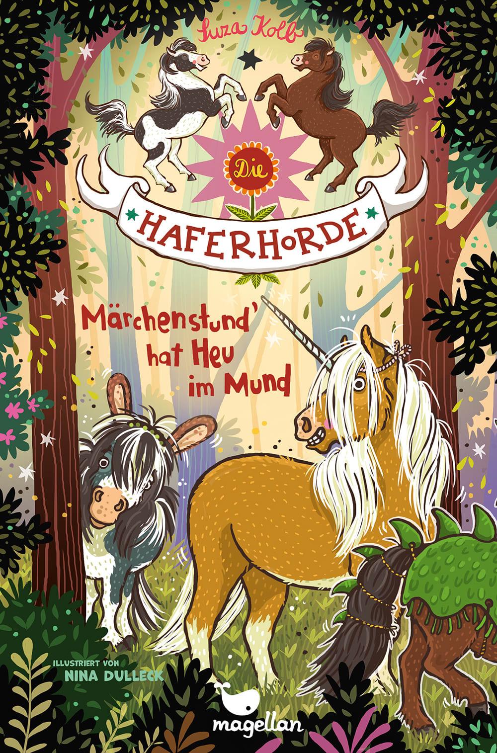 »DIE HAFERHORDE - MÄRCHENSTUND' HAT HEU IM MUND (Band 17)« — MAGELLAN