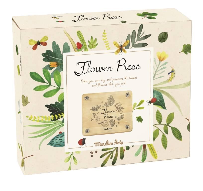 »Blüten- und Blätterpresse« — Moulin Roty