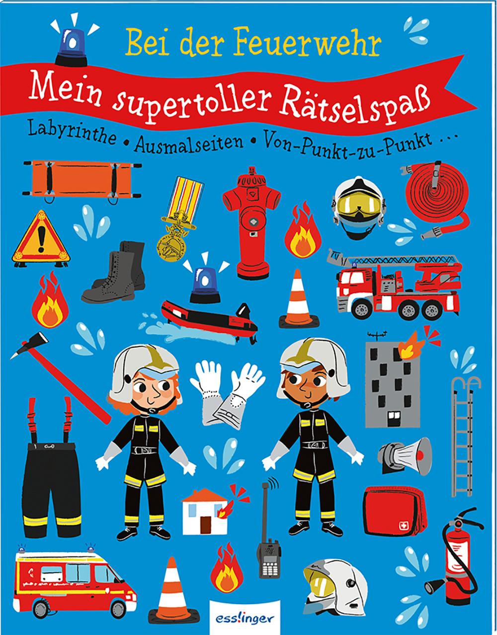 »Mein supertoller Rätselspaß: Bei der Feuerwehr« — ESSLINGER