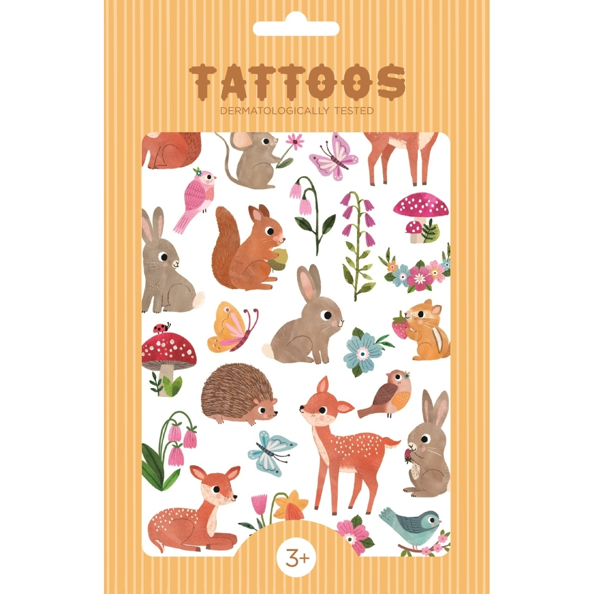 »TATTOOS WALDTIERE« — PETITE MONKEYS