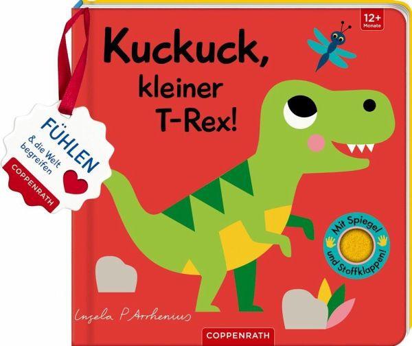»MEIN FILZ-FÜHLBUCH: KUCKUCK, KLEINER T-REX!« — COPPENRATH