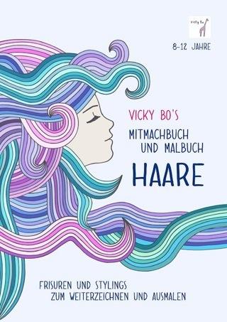 »Mitmach-Malbuch für Kinder - HAARE« — Vicky Bo