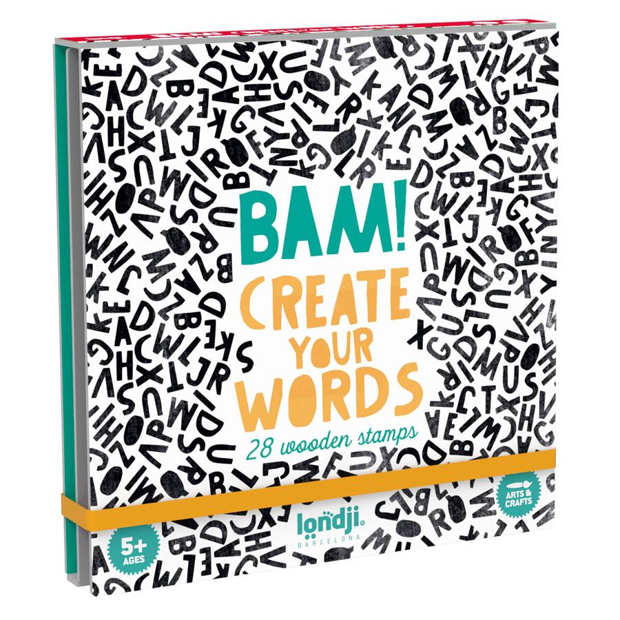 »BAM! CREATE YOUR WORDS«  — LONDJI